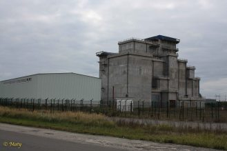 abandoned French facility to process the radioactive materiel