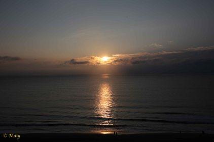 Sunrise at Virginia Beach! Sweet!