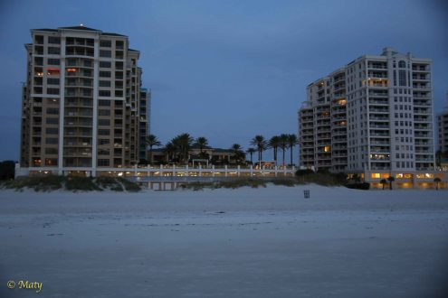 Hotel row - short walk and you are at the beach!