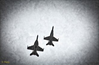 Two F-18s